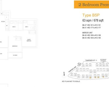 treasure-at-tampines-floor-plan-2-bedroom-premium-type-b5p