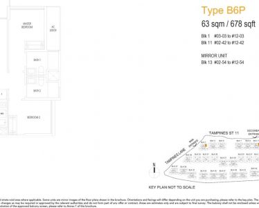 treasure-at-tampines-floor-plan-2-bedroom-premium-type-b6p