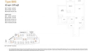 treasure-at-tampines-floor-plan-2-bedroom-study-type-b8s