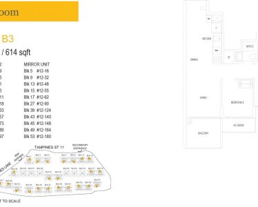 treasure-at-tampines-floor-plan-2-bedroom-type-b3