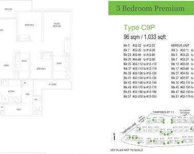 treasure-at-tampines-floor-plan-3-bedroom-premium-type-c9p