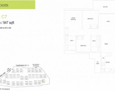 treasure-at-tampines-floor-plan-3-bedroom-type-c7