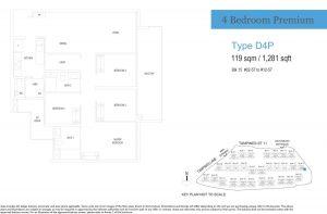 treasure-at-tampines-floor-plan-4-bedroom-premium-type-d4p