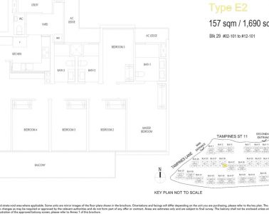 treasure-at-tampines-floor-plan-5-bedroom-type-E2