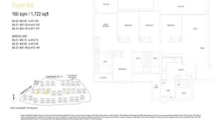 treasure at tampines floor plan 5 bedrooms